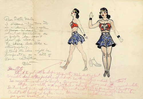 Pin-Up Powerhouse: Wonder Woman's Controversial Costume